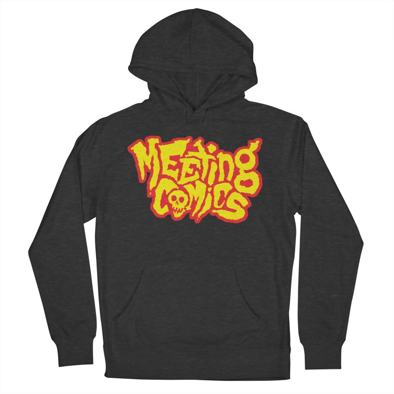 Meeting Comics Logo - primary Women's French Terry Pullover Hoody by Wander Lane Threadless Shop