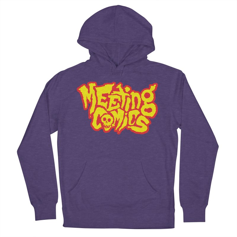 Meeting Comics Logo - primary Men's French Terry Pullover Hoody by Wander Lane Threadless Shop