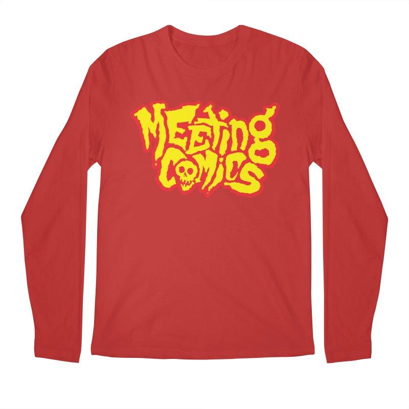 Meeting Comics Logo - primary Men's Regular Longsleeve T-Shirt by Wander Lane Threadless Shop