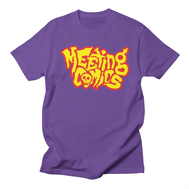Meeting Comics Logo - primary Men's Regular T-Shirt by Wander Lane Threadless Shop