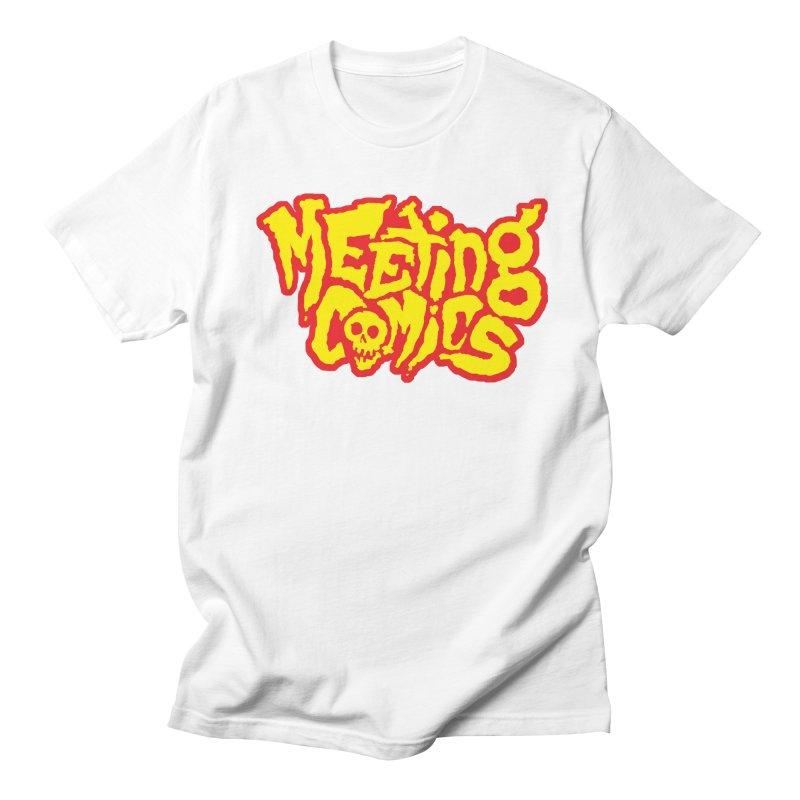 Meeting Comics Logo - primary Women's Regular Unisex T-Shirt by Wander Lane Threadless Shop