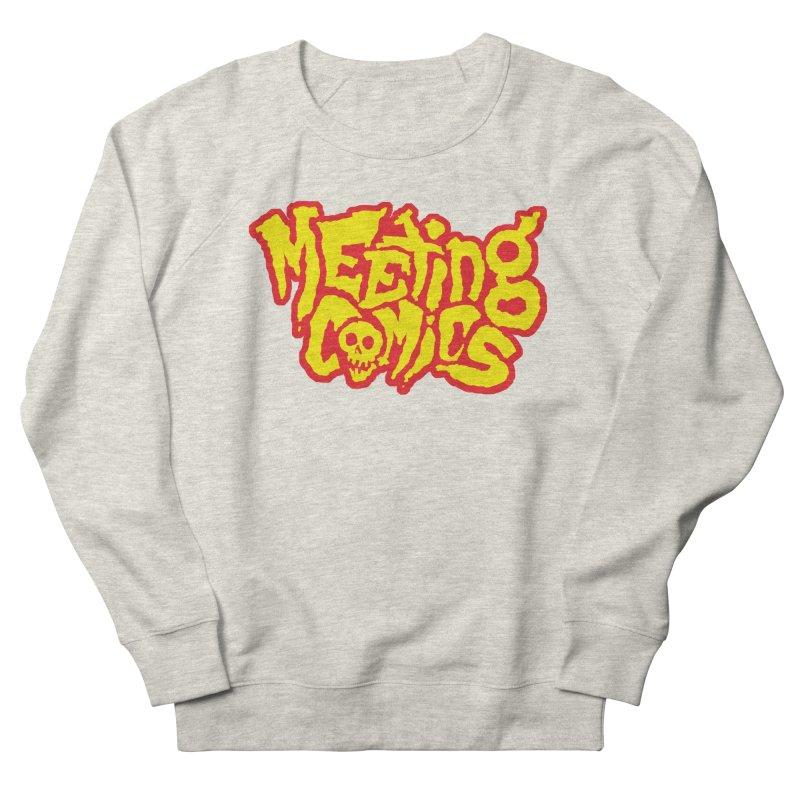 Meeting Comics Logo - primary Women's French Terry Sweatshirt by Wander Lane Threadless Shop