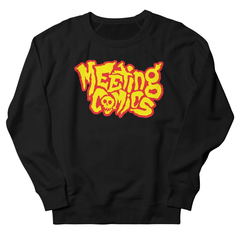 Meeting Comics Logo - primary Men's French Terry Sweatshirt by Wander Lane Threadless Shop