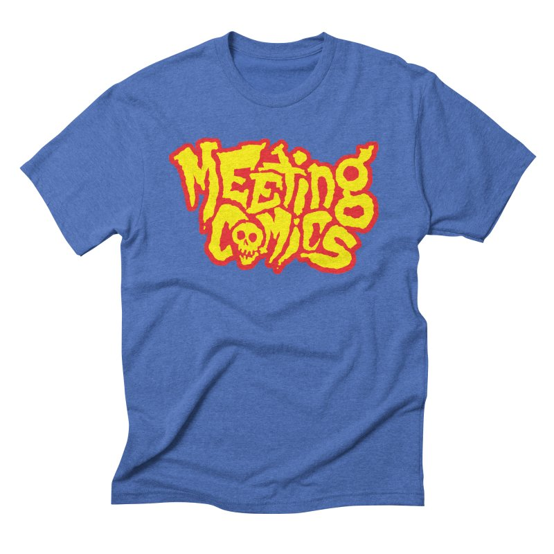 Meeting Comics Logo - primary Men's Triblend T-Shirt by Wander Lane Threadless Shop