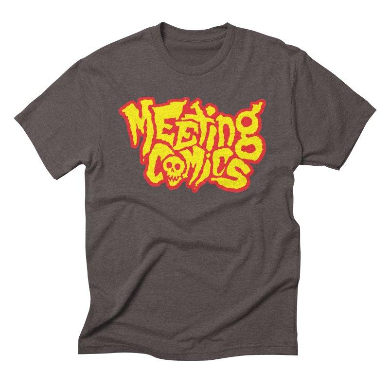 Meeting Comics Logo - primary Men's Triblend T-Shirt by Wander Lane Threadless Shop