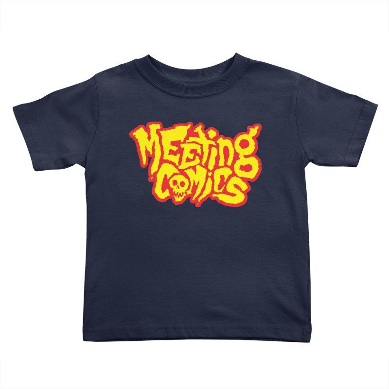 Meeting Comics Logo - primary Kids Toddler T-Shirt by Wander Lane Threadless Shop