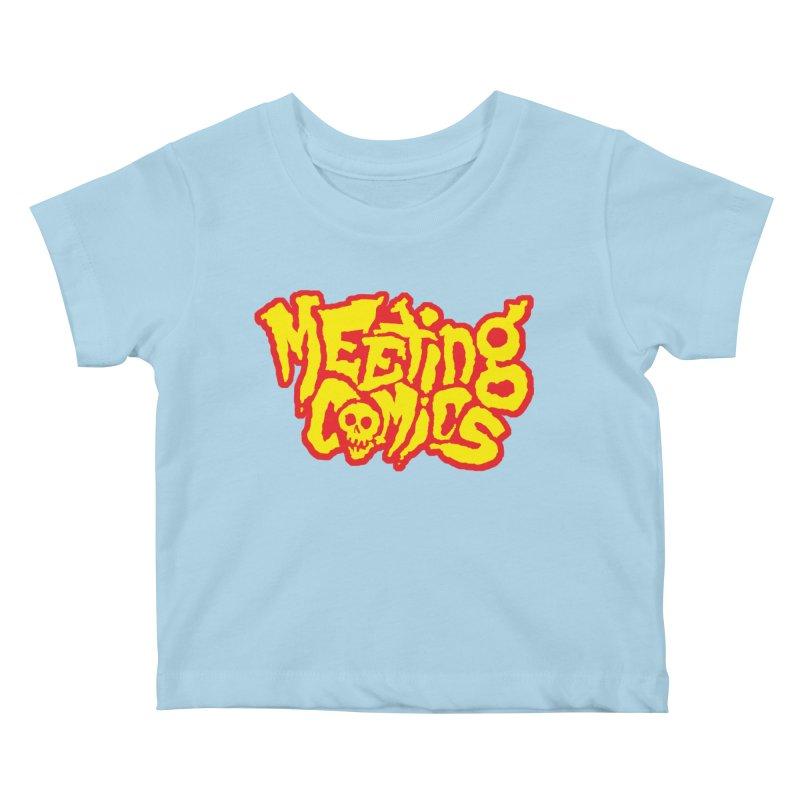 Meeting Comics Logo - primary Kids Baby T-Shirt by Wander Lane Threadless Shop