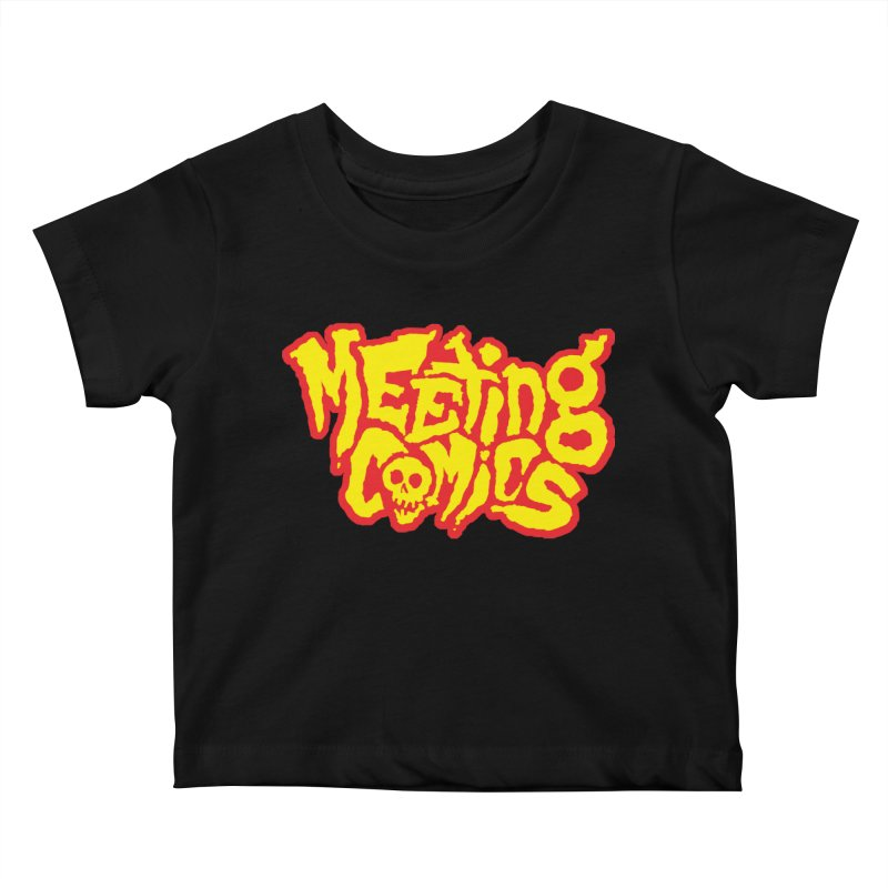 Meeting Comics Logo - primary Kids Baby T-Shirt by Wander Lane Threadless Shop