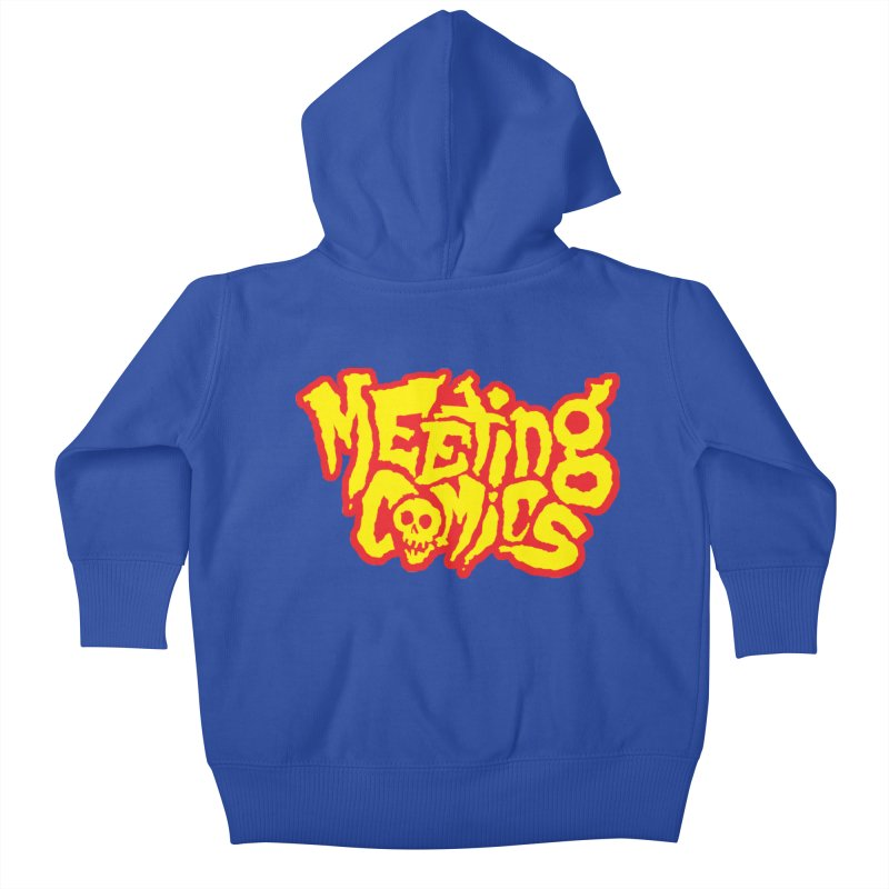 Meeting Comics Logo - primary Kids Baby Zip-Up Hoody by Wander Lane Threadless Shop