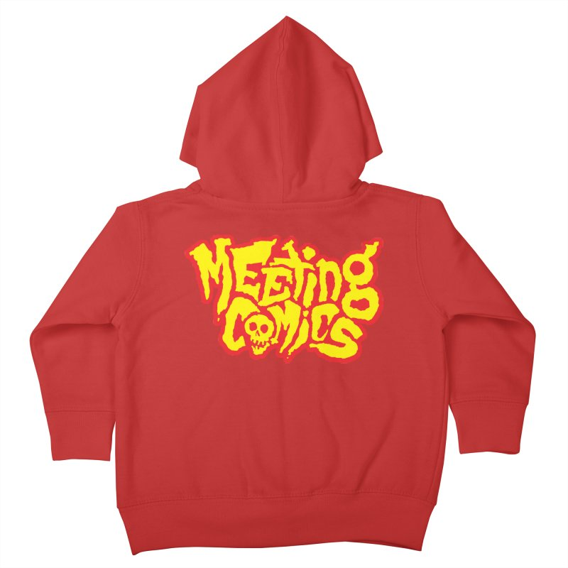 Meeting Comics Logo - primary Kids Toddler Zip-Up Hoody by Wander Lane Threadless Shop