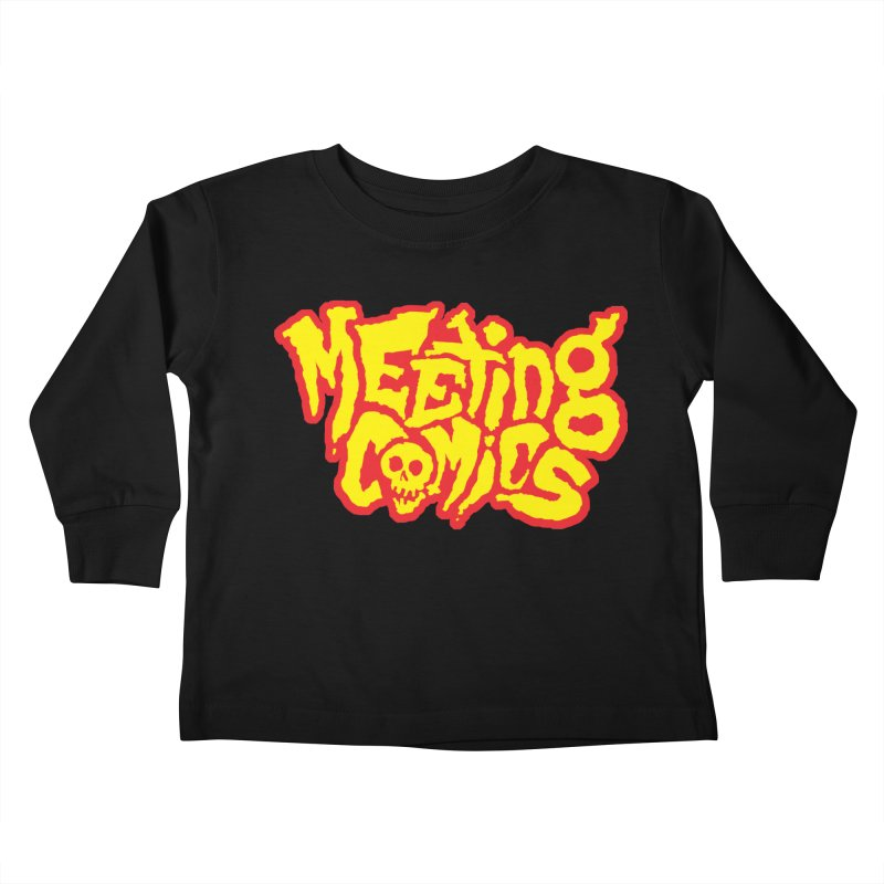 Meeting Comics Logo - primary Kids Toddler Longsleeve T-Shirt by Wander Lane Threadless Shop