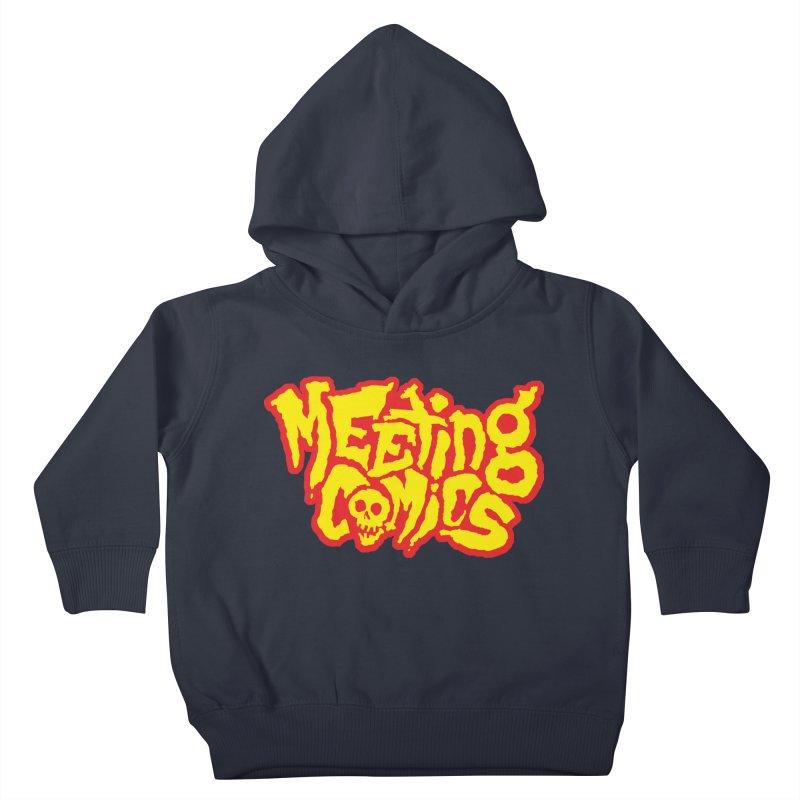 Meeting Comics Logo - primary Kids Toddler Pullover Hoody by Wander Lane Threadless Shop
