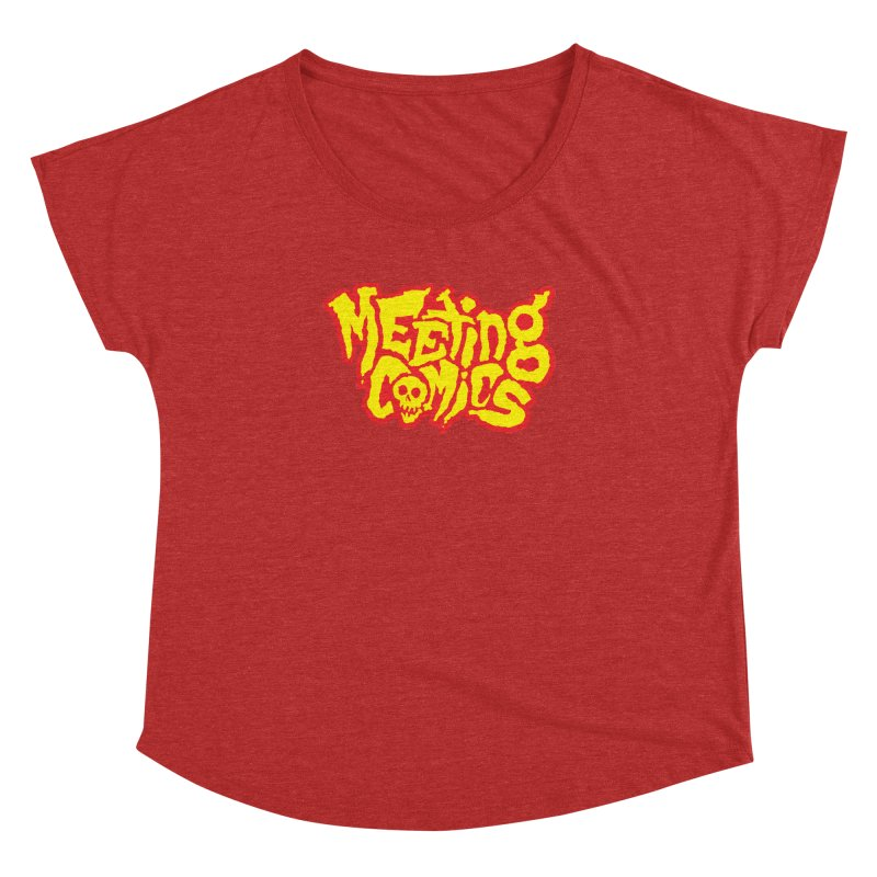 Meeting Comics Logo - primary Women's Dolman Scoop Neck by Wander Lane Threadless Shop