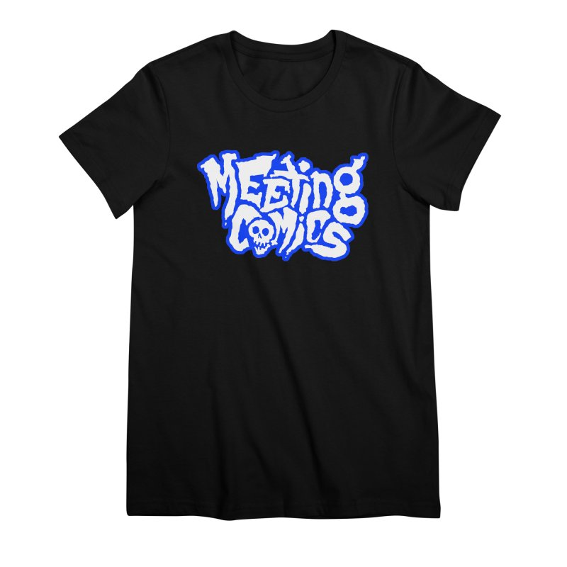 Meeting Comics Logo - sports Women's Premium T-Shirt by Wander Lane Threadless Shop