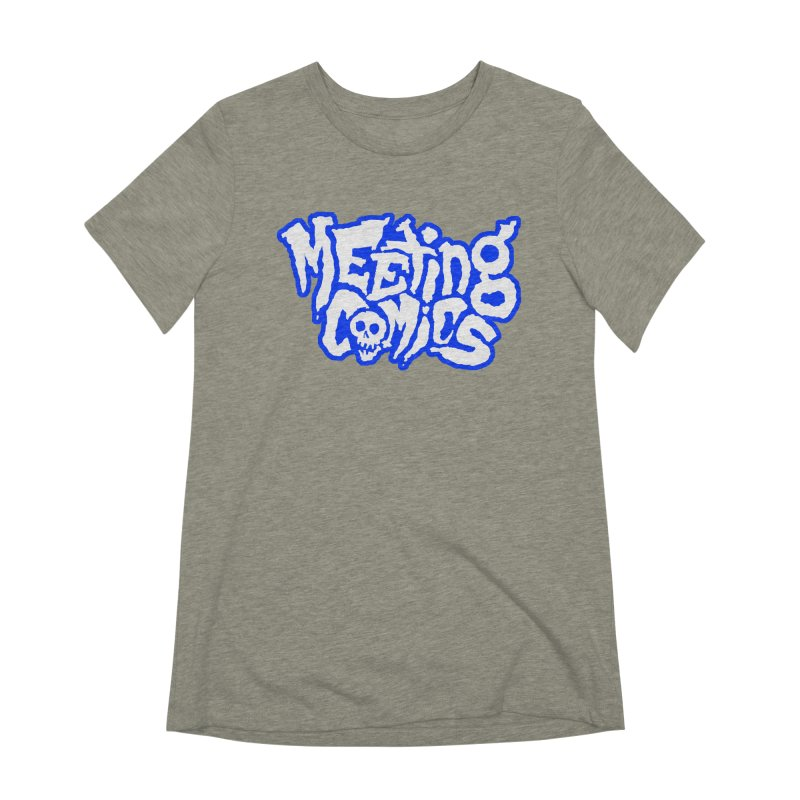 Meeting Comics Logo - sports Women's Extra Soft T-Shirt by Wander Lane Threadless Shop