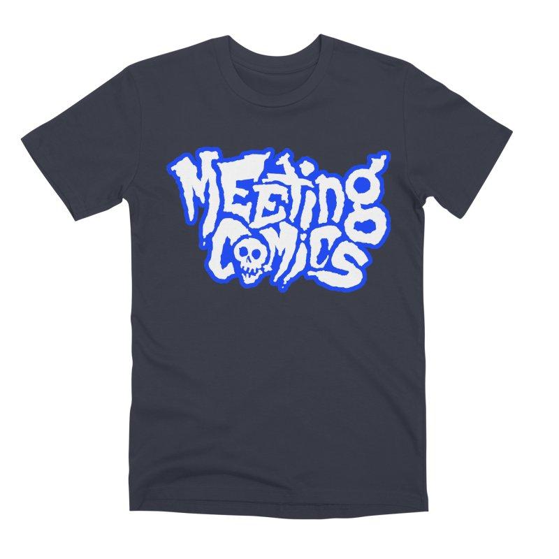 Meeting Comics Logo - sports Men's Premium T-Shirt by Wander Lane Threadless Shop