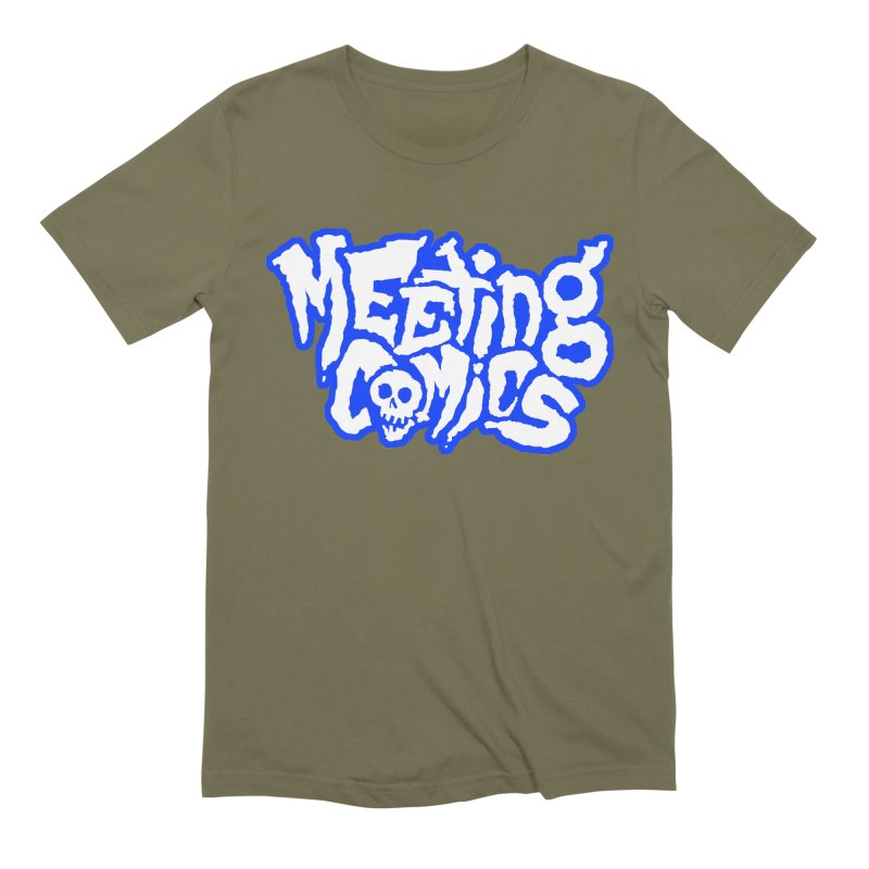 Meeting Comics Logo - sports Men's Extra Soft T-Shirt by Wander Lane Threadless Shop