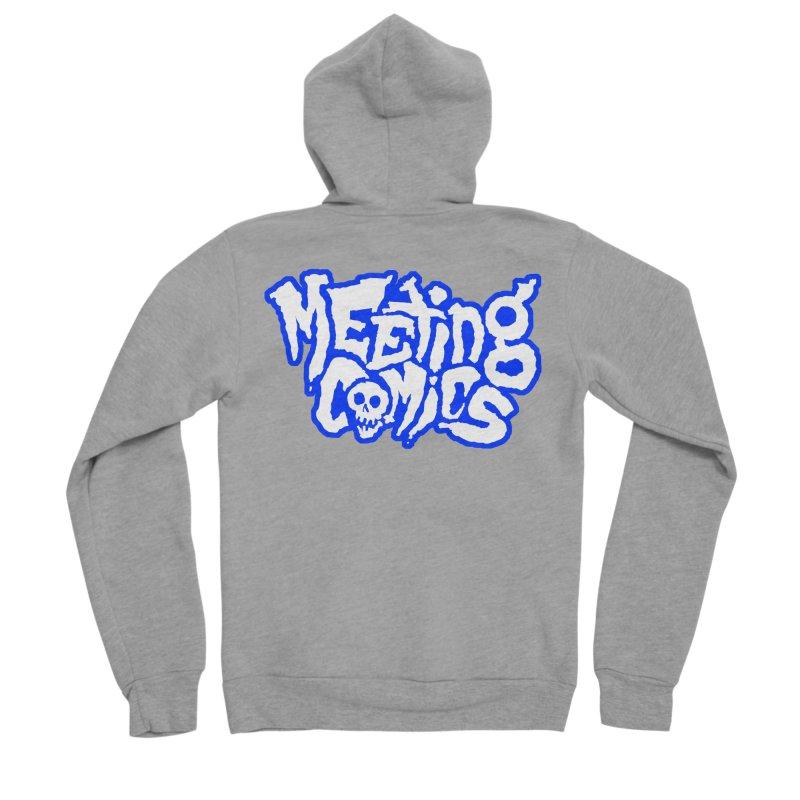 Meeting Comics Logo - sports Women's Sponge Fleece Zip-Up Hoody by Wander Lane Threadless Shop