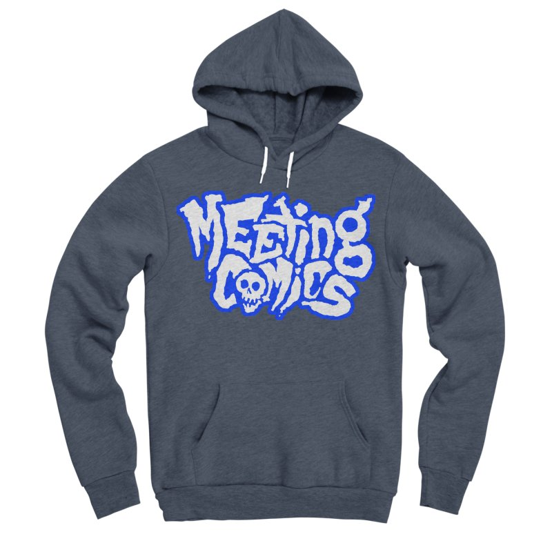 Meeting Comics Logo - sports Men's Sponge Fleece Pullover Hoody by Wander Lane Threadless Shop