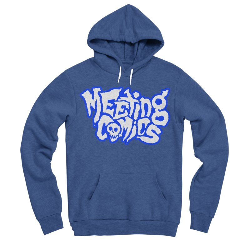Meeting Comics Logo - sports Women's Sponge Fleece Pullover Hoody by Wander Lane Threadless Shop