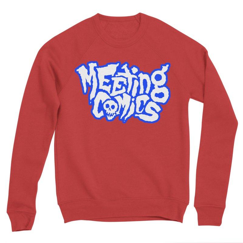 Meeting Comics Logo - sports Men's Sponge Fleece Sweatshirt by Wander Lane Threadless Shop