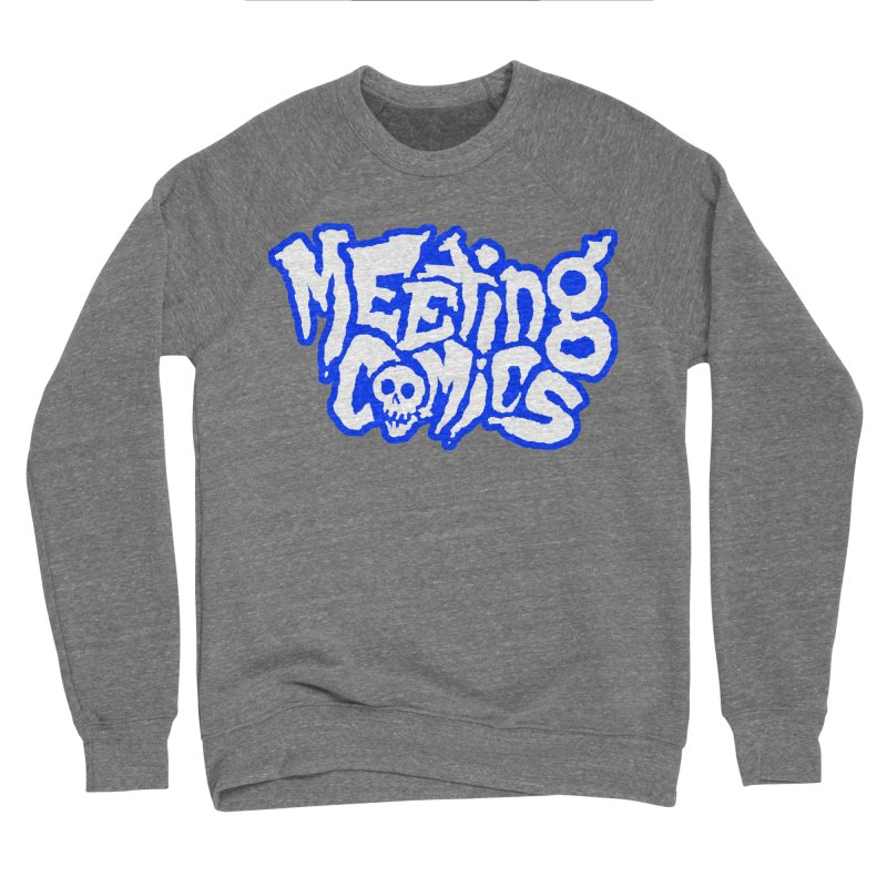 Meeting Comics Logo - sports Women's Sponge Fleece Sweatshirt by Wander Lane Threadless Shop