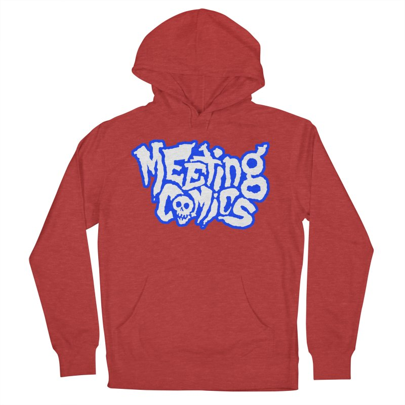 Meeting Comics Logo - sports Men's French Terry Pullover Hoody by Wander Lane Threadless Shop