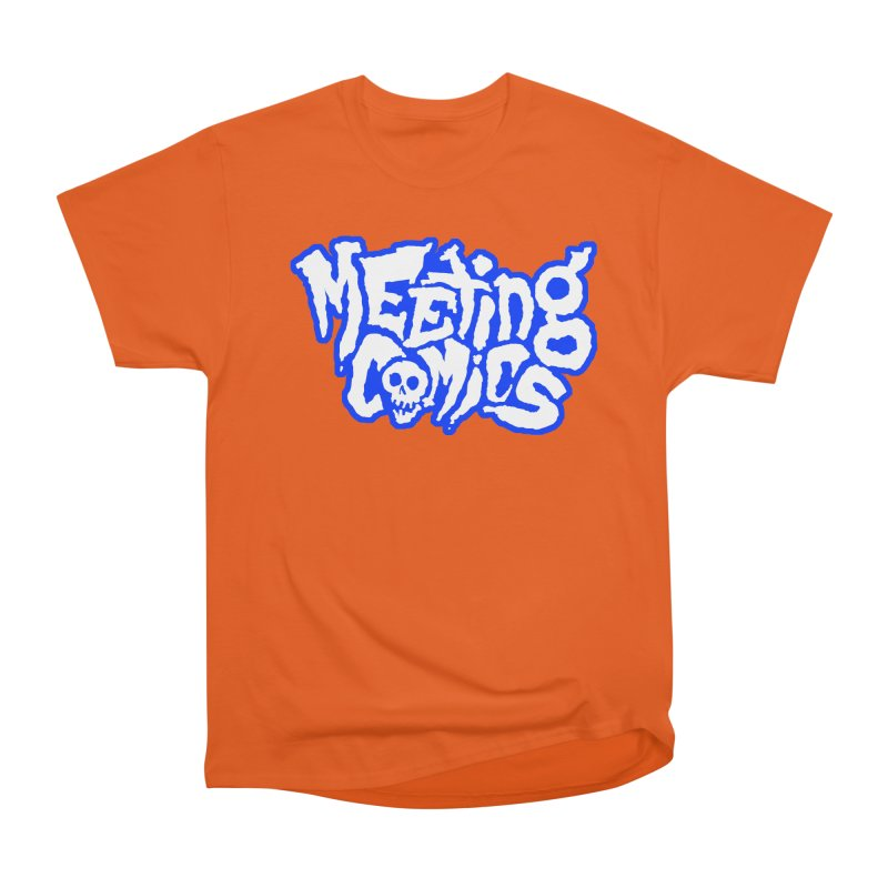 Meeting Comics Logo - sports Women's Heavyweight Unisex T-Shirt by Wander Lane Threadless Shop