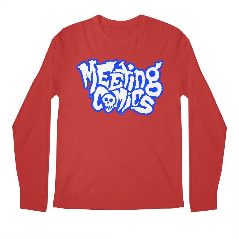 Meeting Comics Logo - sports Men's Regular Longsleeve T-Shirt by Wander Lane Threadless Shop