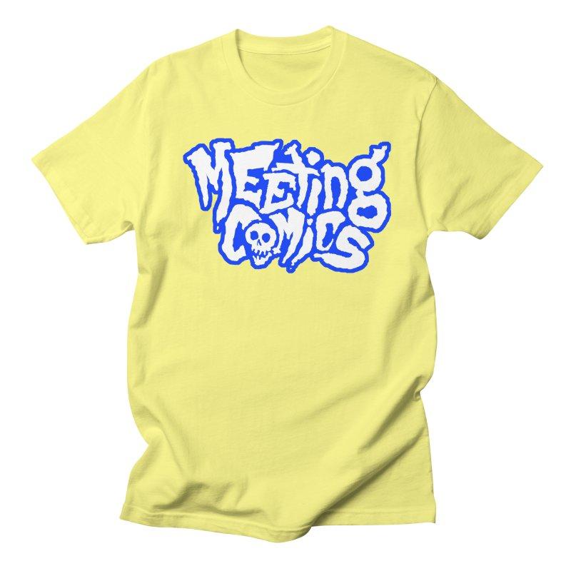 Meeting Comics Logo - sports Men's Regular T-Shirt by Wander Lane Threadless Shop