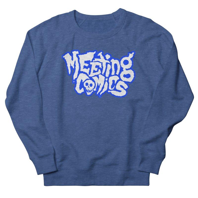 Meeting Comics Logo - sports Women's French Terry Sweatshirt by Wander Lane Threadless Shop