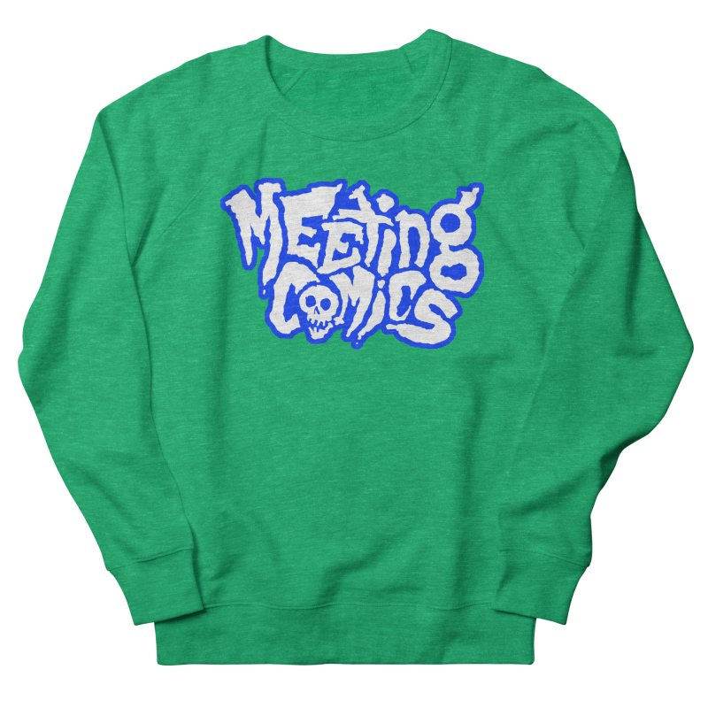 Meeting Comics Logo - sports Men's French Terry Sweatshirt by Wander Lane Threadless Shop