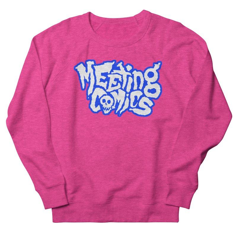 Meeting Comics Logo - sports Men's French Terry Sweatshirt by Wander Lane Threadless Shop
