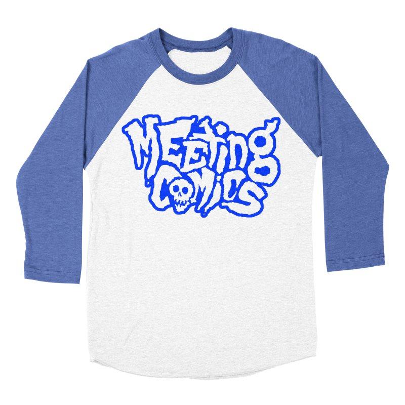 Meeting Comics Logo - sports Women's Baseball Triblend Longsleeve T-Shirt by Wander Lane Threadless Shop