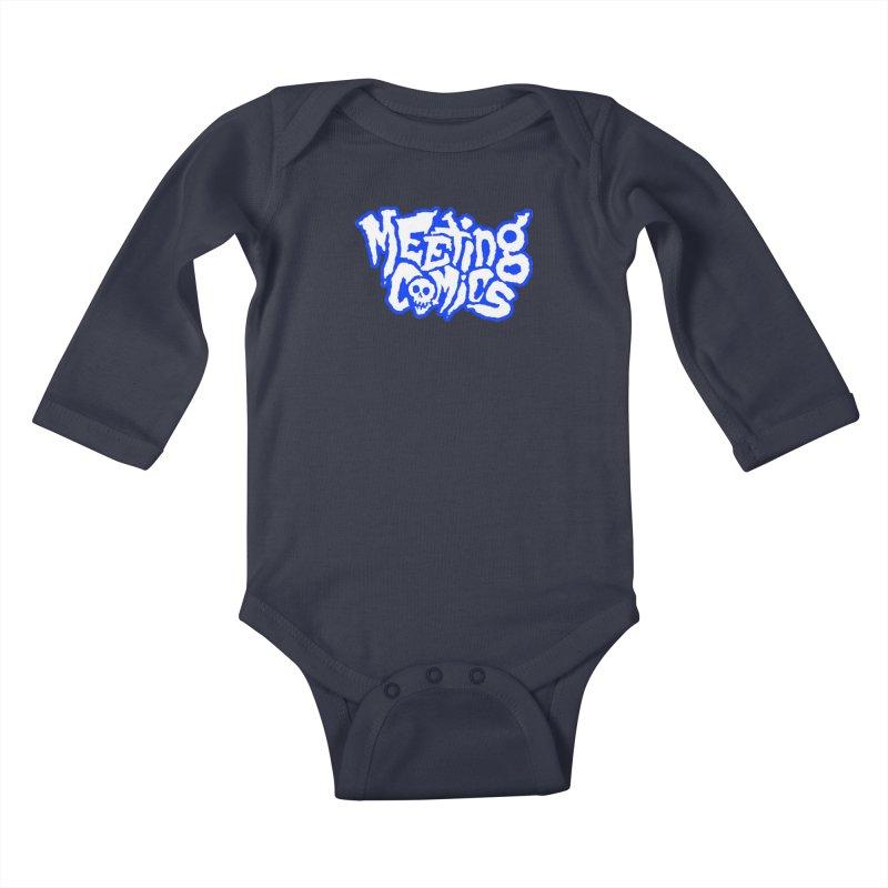 Meeting Comics Logo - sports Kids Baby Longsleeve Bodysuit by Wander Lane Threadless Shop