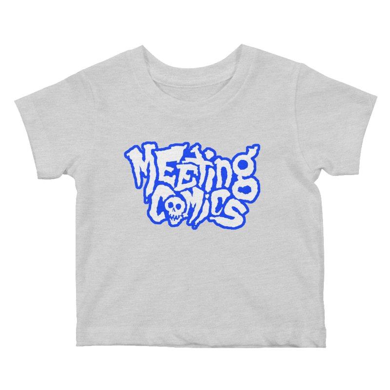 Meeting Comics Logo - sports Kids Baby T-Shirt by Wander Lane Threadless Shop