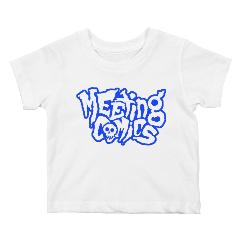 Meeting Comics Logo - sports Kids Baby T-Shirt by Wander Lane Threadless Shop
