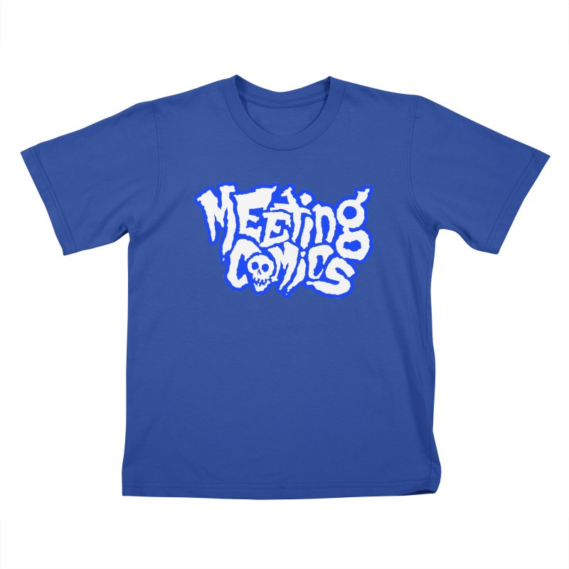 Meeting Comics Logo - sports Kids T-Shirt by Wander Lane Threadless Shop