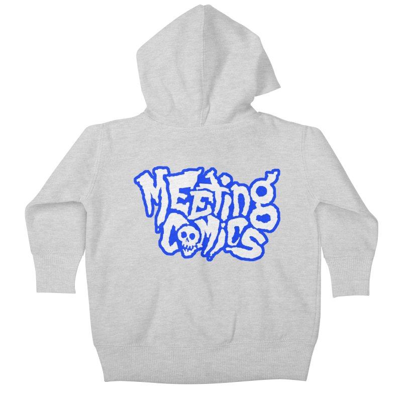 Meeting Comics Logo - sports Kids Baby Zip-Up Hoody by Wander Lane Threadless Shop