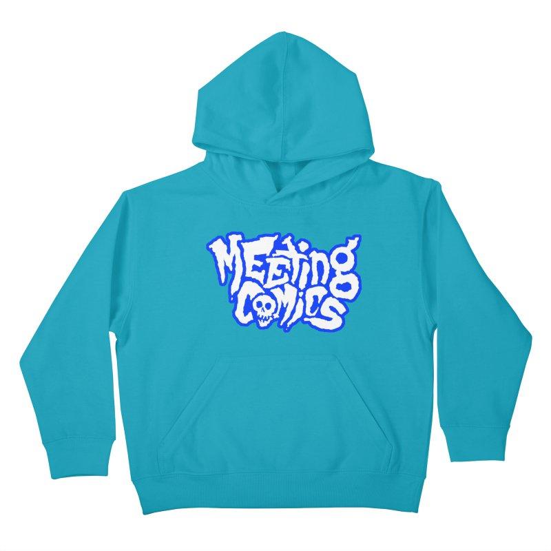 Meeting Comics Logo - sports Kids Pullover Hoody by Wander Lane Threadless Shop