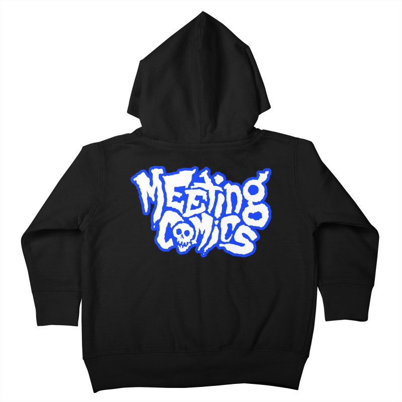 Meeting Comics Logo - sports Kids Toddler Zip-Up Hoody by Wander Lane Threadless Shop