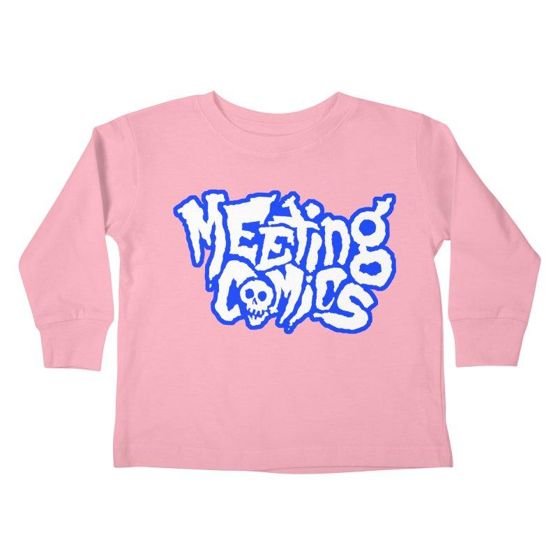 Meeting Comics Logo - sports Kids Toddler Longsleeve T-Shirt by Wander Lane Threadless Shop