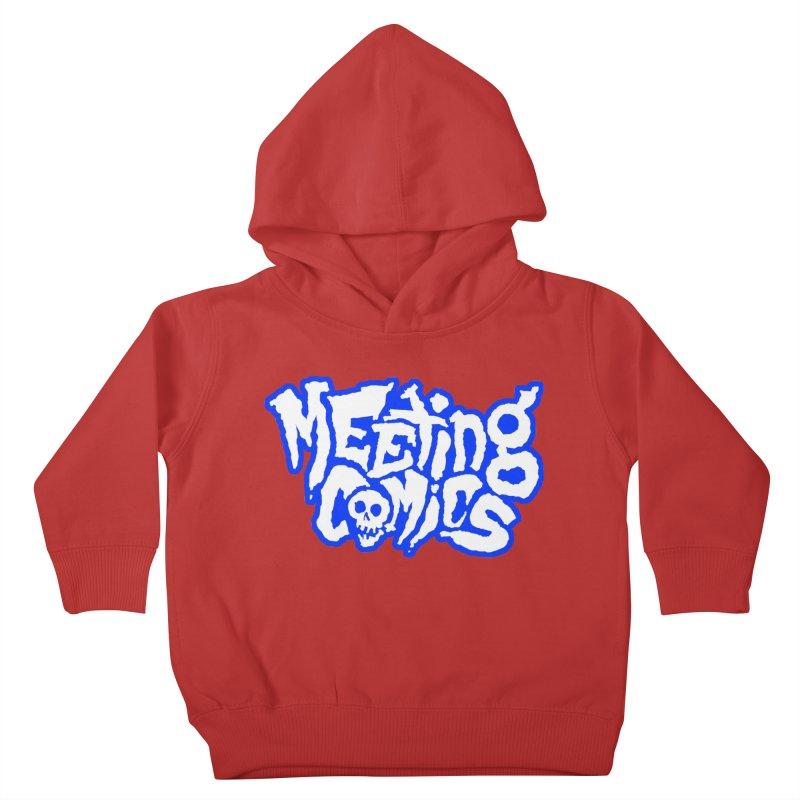 Meeting Comics Logo - sports Kids Toddler Pullover Hoody by Wander Lane Threadless Shop