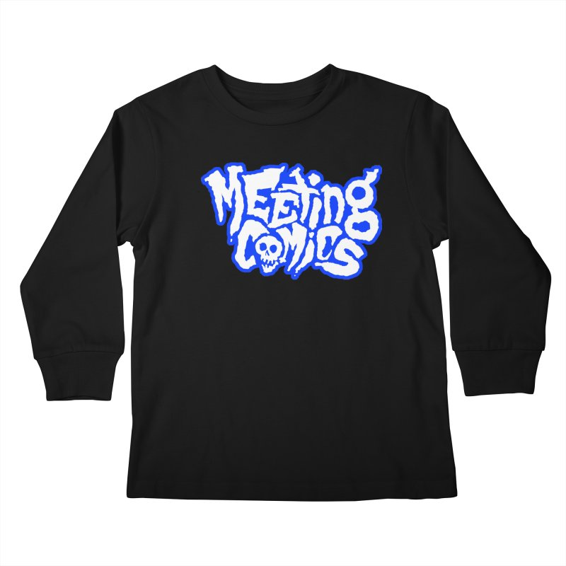 Meeting Comics Logo - sports Kids Longsleeve T-Shirt by Wander Lane Threadless Shop