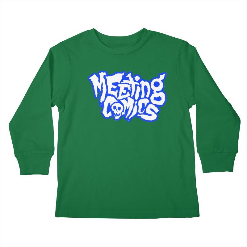 Meeting Comics Logo - sports Kids Longsleeve T-Shirt by Wander Lane Threadless Shop