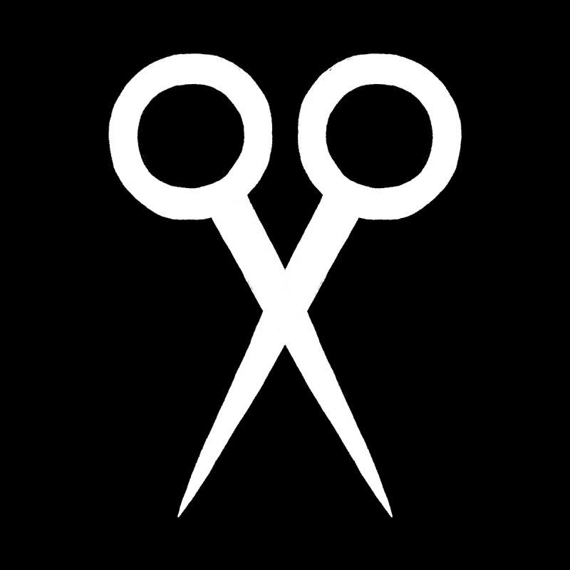 Meeting Comics: Ribbon Cutter Logo Men's Longsleeve T-Shirt by Wander Lane Threadless Shop