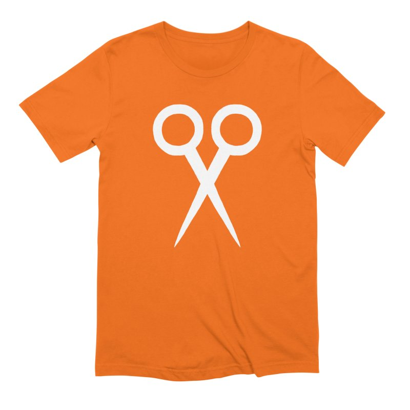 Meeting Comics: Ribbon Cutter Logo Men's Extra Soft T-Shirt by Wander Lane Threadless Shop