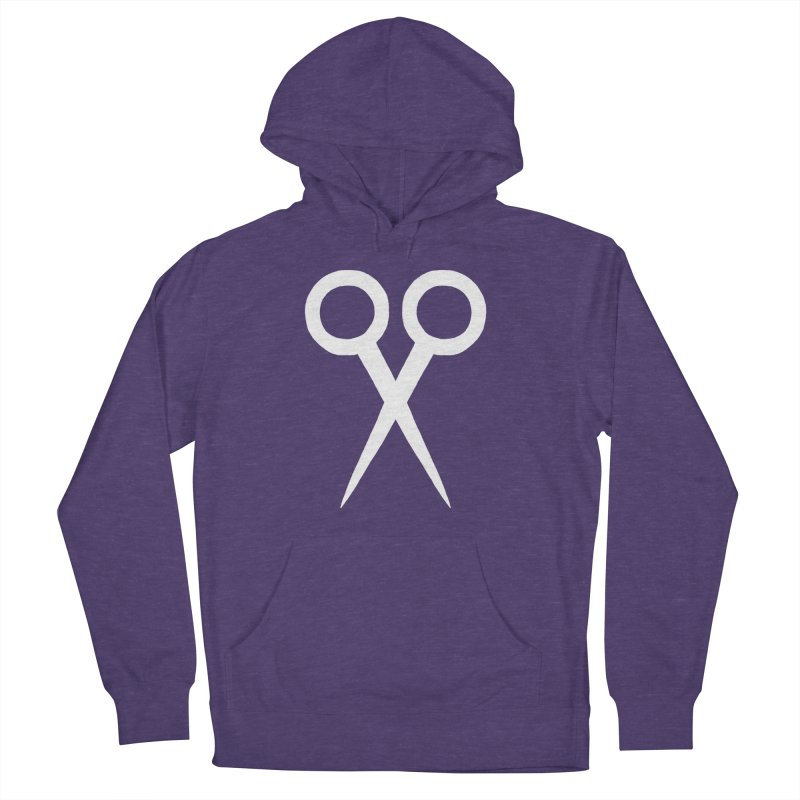 Meeting Comics: Ribbon Cutter Logo Women's French Terry Pullover Hoody by Wander Lane Threadless Shop