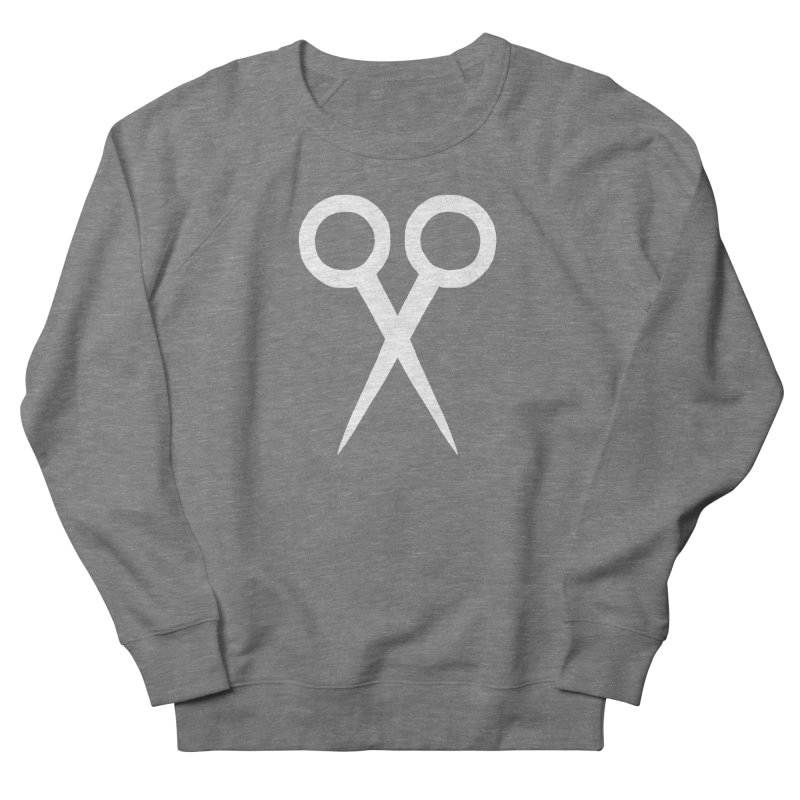 Meeting Comics: Ribbon Cutter Logo Men's French Terry Sweatshirt by Wander Lane Threadless Shop