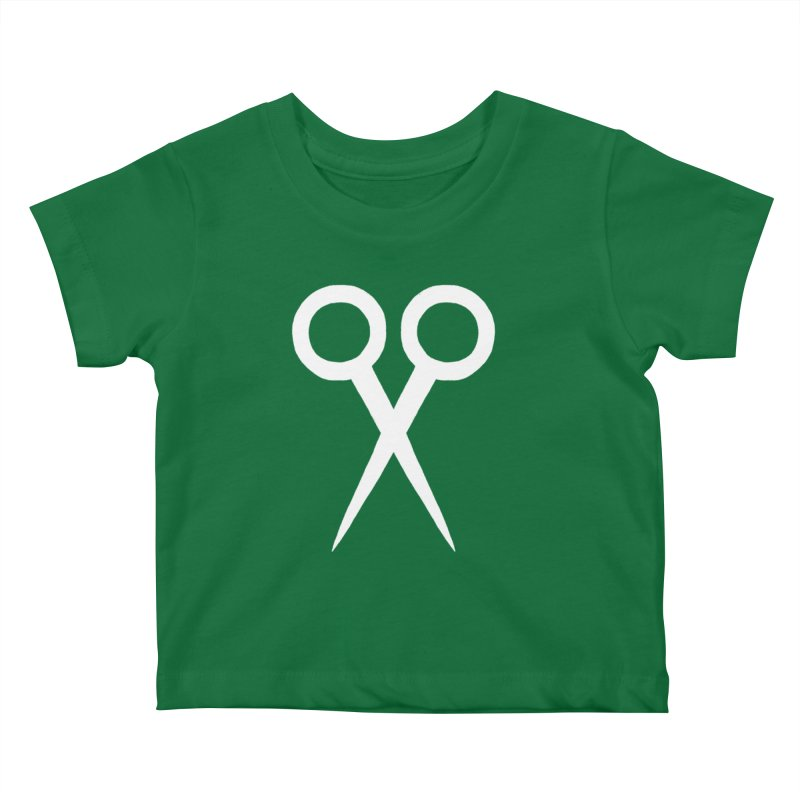 Meeting Comics: Ribbon Cutter Logo Kids Baby T-Shirt by Wander Lane Threadless Shop